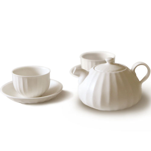 MIGAK LUCKY BAG TEA POT SET_SNOW WHITE(IVORY)