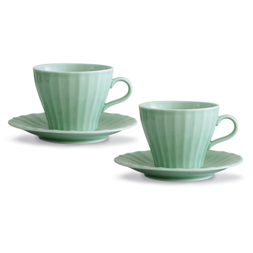 MIGAK COFFEE CUP SET FOR 2_CELADON(GREEN)