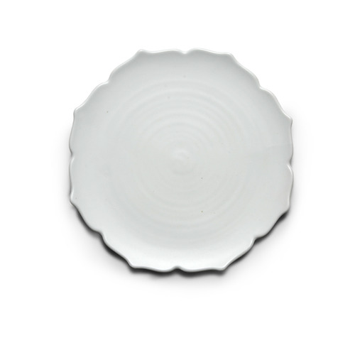 Modern line Lotus Flower-shaped Plate 21