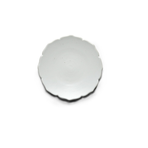 Modern line Lotus Flower-shaped Plate 13