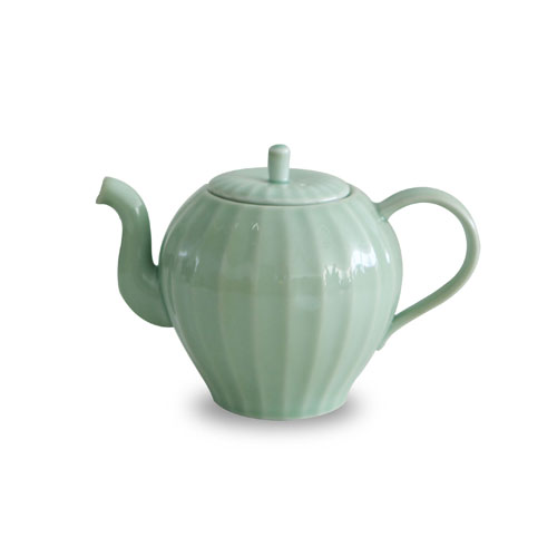 MIGAK APPLE TEA POT_CELADON(GREEN)